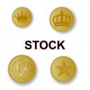 Metal tokens På lager för omedelbar leverans
