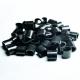Plast envägslås för vävband