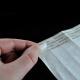 Släpp papper belagt med silikon för att skydda bindemedlet på tyvek pappersband