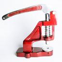 Bordkrympverktyg för pressning av tätningar på textilband