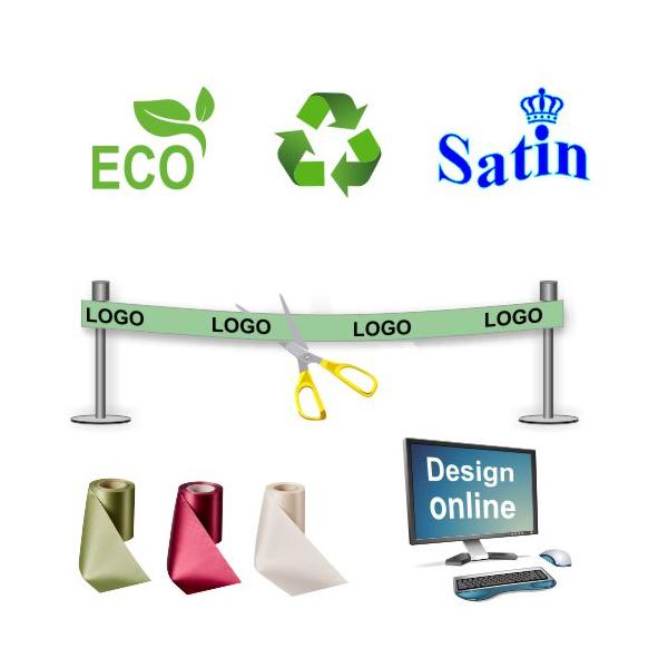 Designa miljövänligt och hållbart invigningband online.