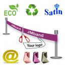 Miljövänligt, ekologisk, och hållbart invigningband Via eMail.
