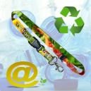 Hållbara och miljövänliga tryckta nyckelband