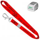 Skriv ut egna nyckelband med JMB4+ termisk skrivare