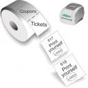 Skriv ut biljetter och kuponger med JMB4+ termisk direktskrivare