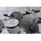 Specialtillverkade tokens av aluminium