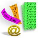 Kupong biljetter tryck Via eMail