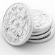Aluminium tokens och aluminiumsmynt