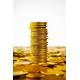Präglade mässing tokens med anpassad design
