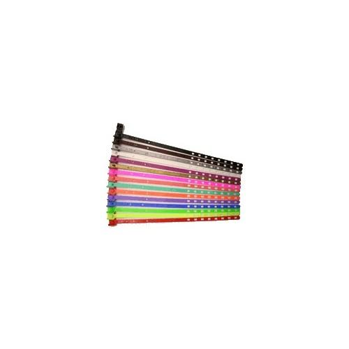 7mm smala plastband med snäpplås