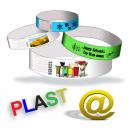 Plast armband H skickar din design