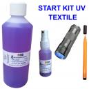 UV-startkit för märkning av textilkläder