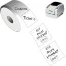 Skriv ut biljetter och kuponger med JMB4 termisk direktskrivare