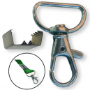 Lås och klämma för att skapa egna nyckelband