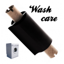 Folier för tryckning med termiska överföringsskrivare på tvättvårdsetiketter