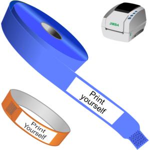 Direkt termisk armband för skrivare JMB4