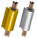 Folier i guld och silver för termisk överföringsskrivare JMB4
