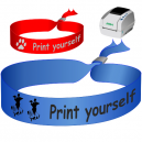 Armband textil - Print Själv