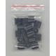 Plastlås för textilband i en PP-väska