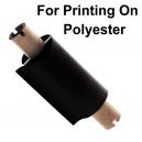 Folier för tryckning med en termisk överföringsskrivare på polyester