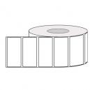 Etiketter termiska adhesiva rullar