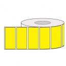 Rullar av färgade självhäftande etiketter för termisk överföringstryck