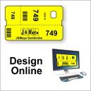 Klädkammare biljetter - design online