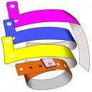 Plast armband L utan tryck