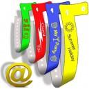 Plast armband L skickar din design