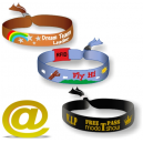 Textil vävt festival armband skickar din design