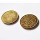Mässing tokens och mässing mynt