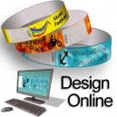 Pappersarmband med mönsterdesign online