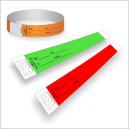 Pappersarmband med tryck för ID