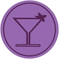 Cocktail purple