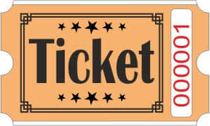 Ticket biljetter - Orange